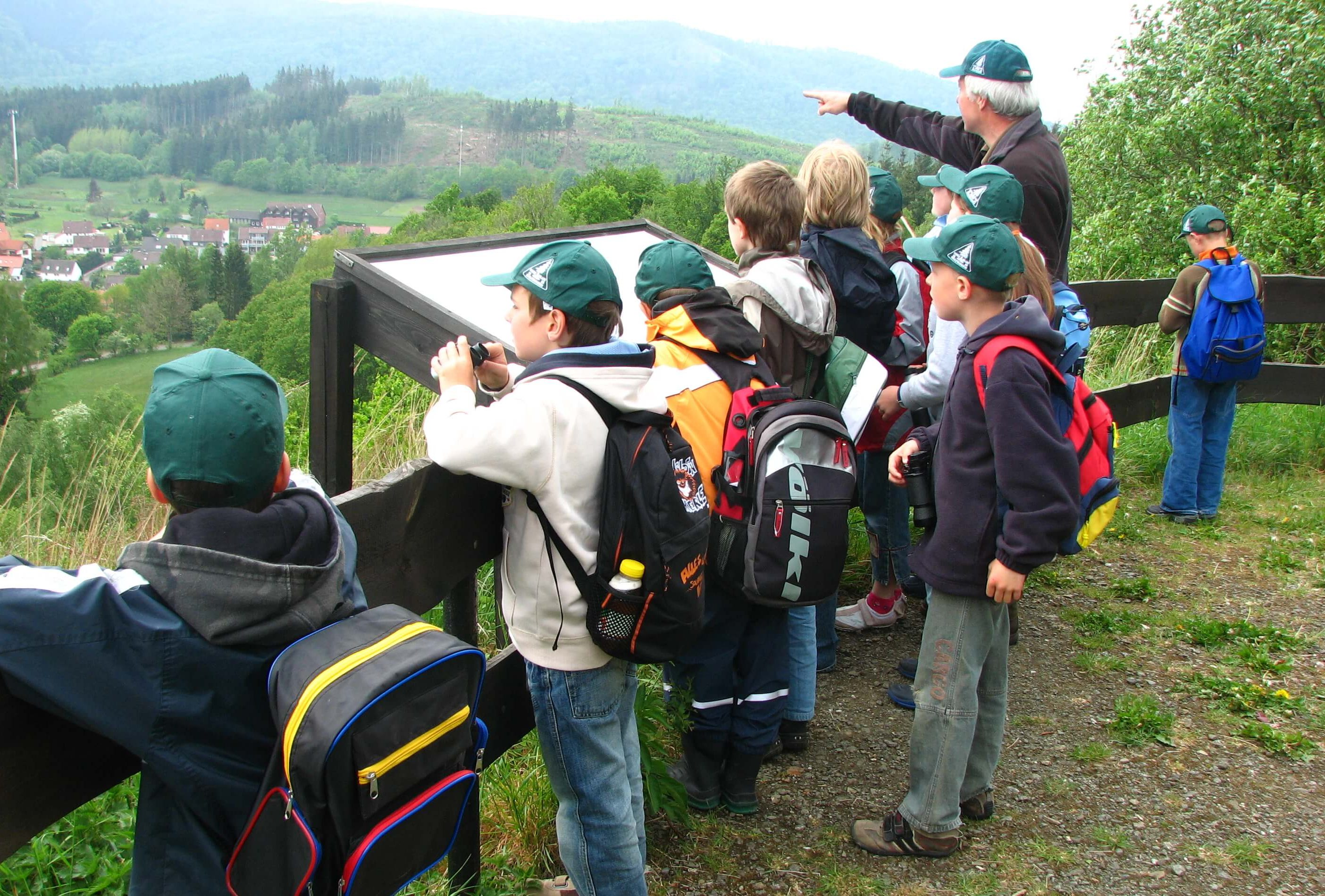 Jugend und Kinder im Harzklub