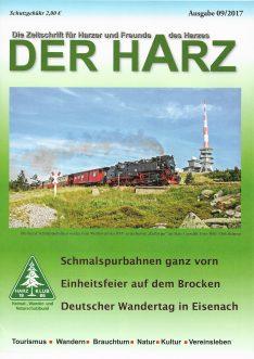 Der Harz - Zeitschrift des Harzklubs