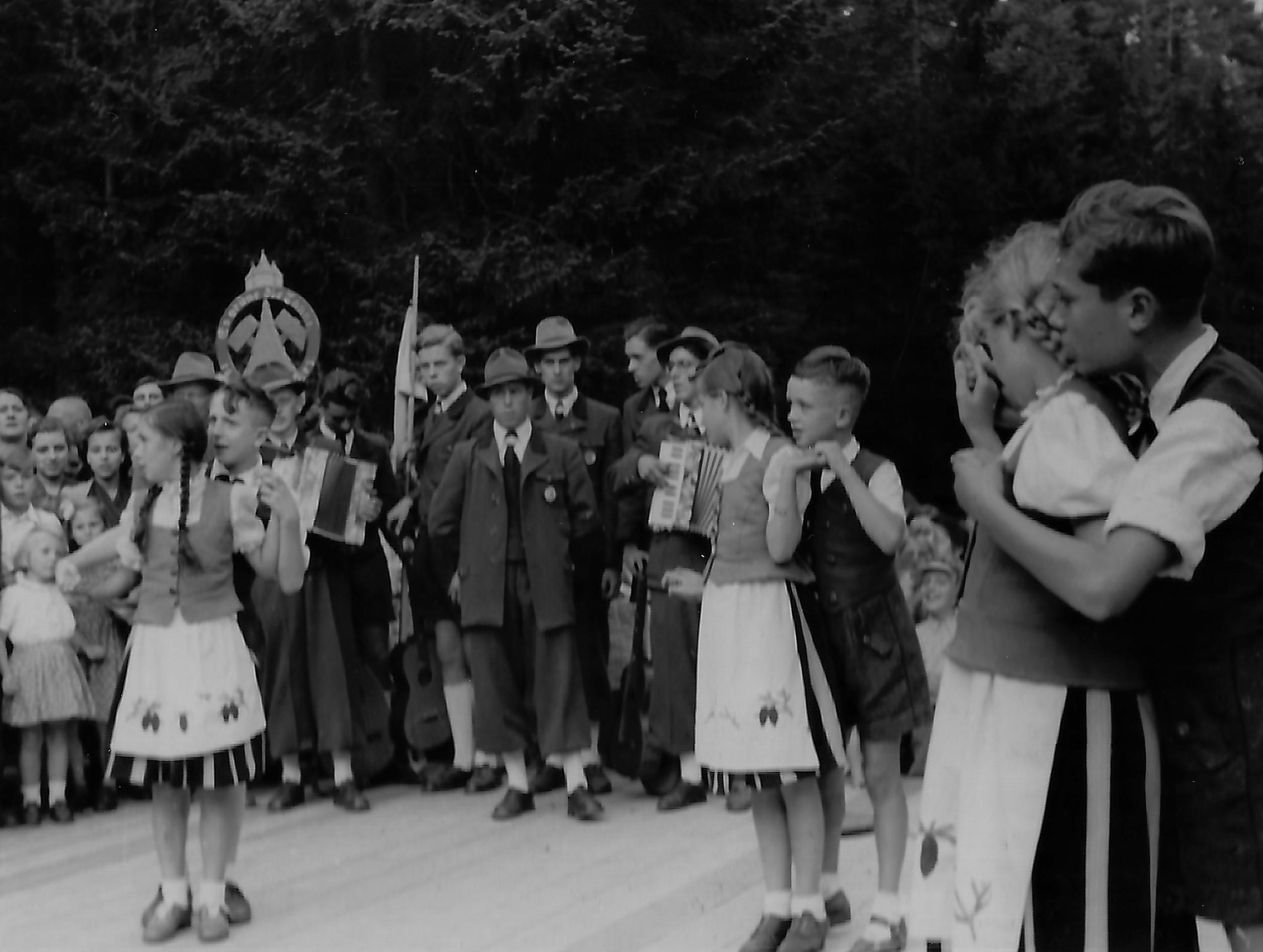Jugendgruppe 1954 Harzklub