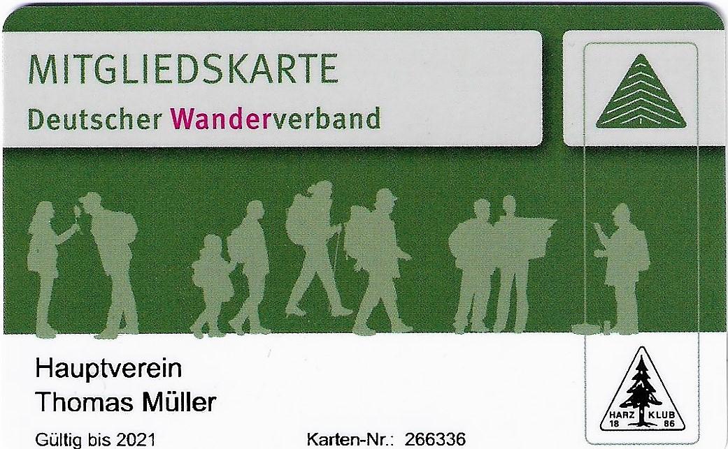 Mitgliedschaft Deutscher Wanderverband