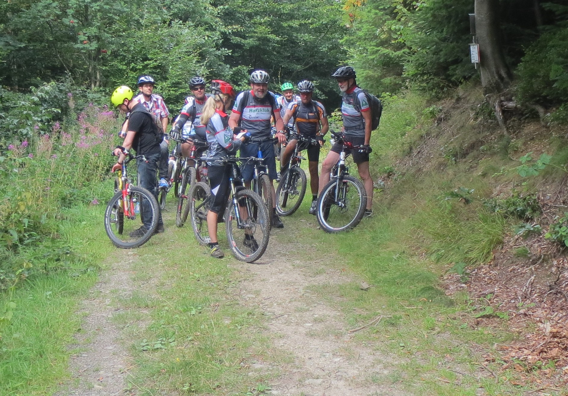 Mountainbiking Harzklub