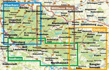 Der Harz in vier Teilen